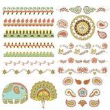 Ornamento hindú Imagen de archivo libre de regalías