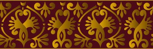 Ornamento horizontal do vetor Imagens de Stock