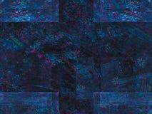 Ornamento ideal decorativo etéreo de la fantasía de la corriente del ruido de la profundidad digital abstracta del movimiento, ex ilustración del vector