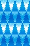 Ornamento inconsútil del Año Nuevo con el efecto de semitono con la raspa de arenque geométrica Imagen de archivo libre de regalías