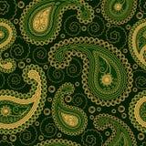Ornamento inconsútil del estilo de Paisley ilustración del vector