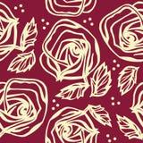 Ornamento inconsútil floral Foto de archivo libre de regalías