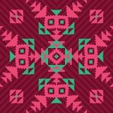 Ornamento inconsútil geométrico étnico libre illustration