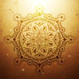 Ornamento indiano imagens de stock