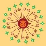 Ornamento indio nativo con Ganesha. Fotografía de archivo libre de regalías