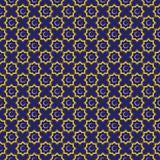 Ornamento islâmico Fundo com teste padrão sem emenda Ilustração do vetor Imagem de Stock