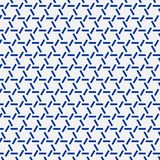 Ornamento japonés del sashiko Adornos asiáticos del bordado ilustración del vector