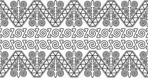 Ornamento kazako Immagini Stock Libere da Diritti