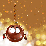 Ornamento lindo de la Navidad Fotografía de archivo libre de regalías