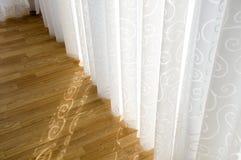 Ornamento luxuosos das cortinas fotografia de stock royalty free