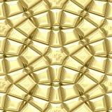 Ornamento maias do ouro Imagem de Stock
