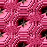 Ornamento maias vermelhos Fotografia de Stock Royalty Free