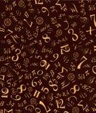 Ornamento matematico Fotografia Stock