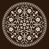 Ornamento medieval de Roma Fotos de archivo