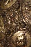 Ornamento medieval del detalle del escudo Fotografía de archivo