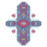 Ornamento mexicano del vector tribal, africano étnico Fotos de archivo libres de regalías