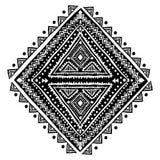Ornamento mexicano do vetor tribal, africano étnico Imagem de Stock