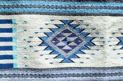 Ornamento mexicano tradicional no tapete tecido imagem de stock royalty free