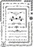Ornamento, modelo, caligrafía Fotografía de archivo