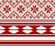 Ornamento nacional Belorussian dos Fotografía de archivo libre de regalías