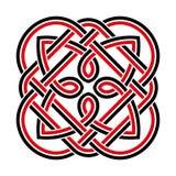 Ornamento nacional céltico Imagen de archivo