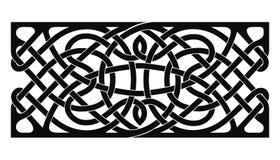 Ornamento nacional céltico stock de ilustración