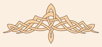Ornamento nacional céltico ilustración del vector
