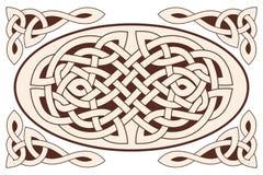 Ornamento nazionale celtico illustrazione di stock