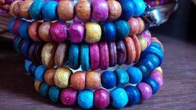 Ornamento neckless multicolor imagenes de archivo
