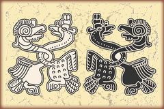 Ornamento no estilo do Maya Imagem de Stock Royalty Free