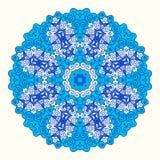 Ornamento octogonal redondo Imagens de Stock