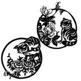 Ornamento oriental ilustração do vetor