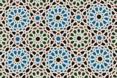 Ornamento oriental. Mosaico árabe Fotografía de archivo libre de regalías