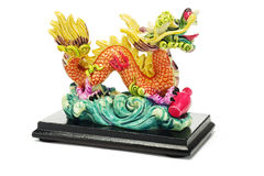 Ornamento orientale del drago Immagine Stock