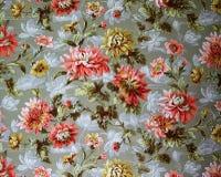 Ornamento original da tela de matéria têxtil do estilo moderno A vasilha de barro é pintado à mão com guache Fotografia de Stock