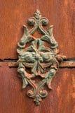 Ornamento oxidado Fotografia de Stock Royalty Free