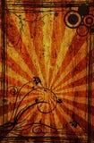 Ornamento oxidado Imagens de Stock