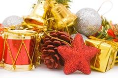 Ornamento para la Navidad Imágenes de archivo libres de regalías