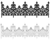 Ornamento para uma cerca ilustração royalty free