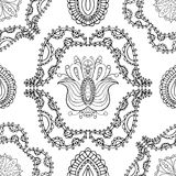 Ornamento pattern Imagen de archivo libre de regalías
