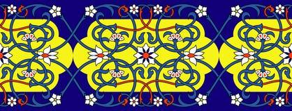 Ornamento persiano illustrazione di stock