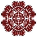 Ornamento piega ungherese Fotografia Stock