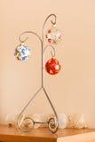 Ornamento pintados do Natal Fotografia de Stock Royalty Free