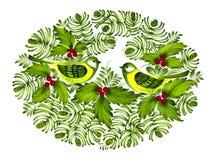 Ornamento popular stock de ilustración