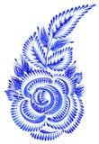 Ornamento popular ilustración del vector