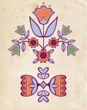 Ornamento popular Imagens de Stock