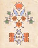 Ornamento popular Imágenes de archivo libres de regalías