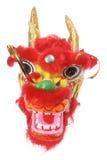 Ornamento principal del dragón chino Foto de archivo libre de regalías