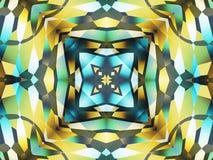 Ornamento quadrado Imagens de Stock