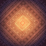 Ornamento quadrados de oriente Fotografia de Stock Royalty Free